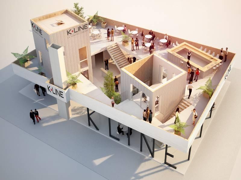 Batimat 2019 : Un stand tout en élégance pour K-Line - Batiweb