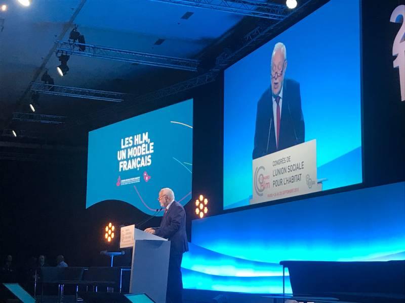 « Un euro investi dans le logement social est un euro bien investi », Jean-Louis Dumont - Batiweb