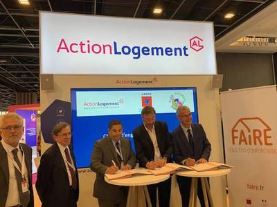 Action Logement signe la charte « Engagé pour FAIRE » Batiweb
