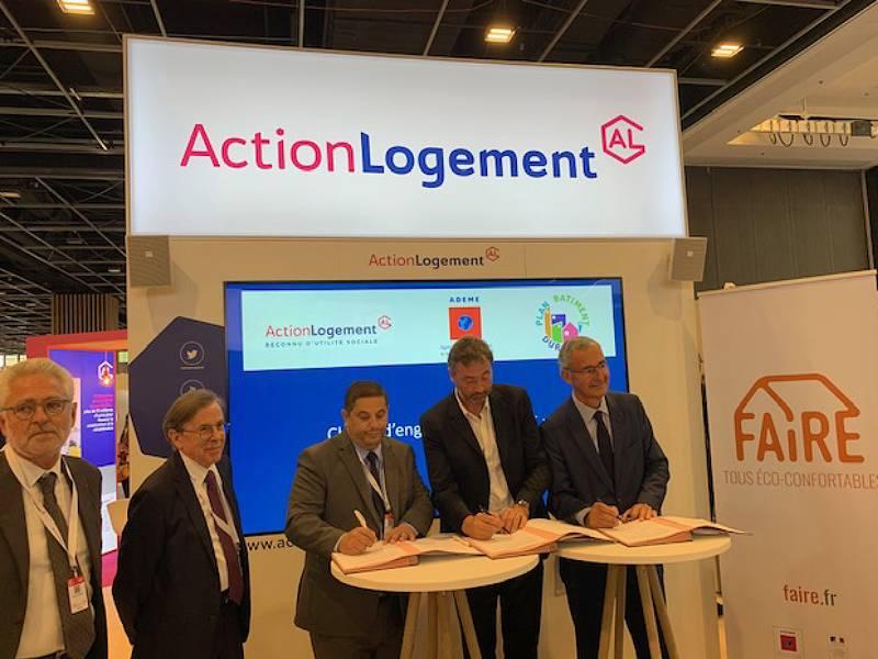 Action Logement signe la charte « Engagé pour FAIRE » - Batiweb