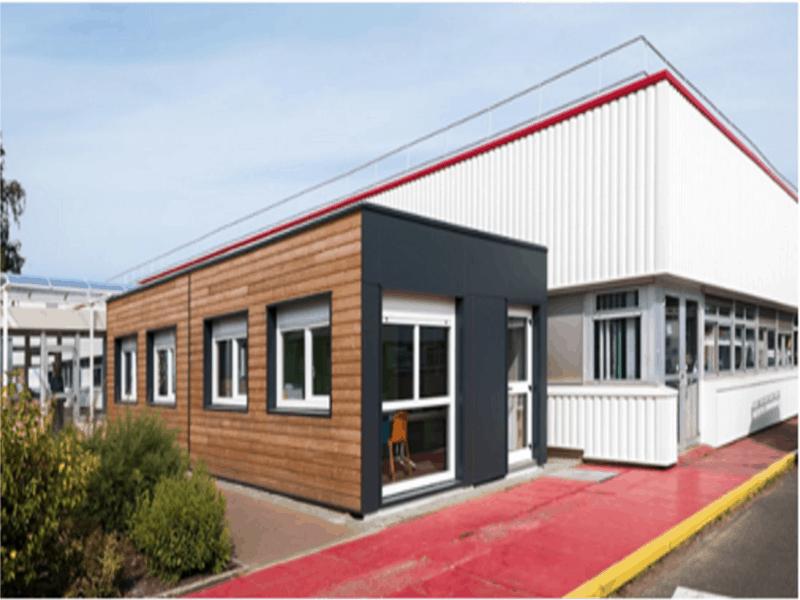Legoupil livre un bâtiment modulaire de 58 m2 en deux jours et demi