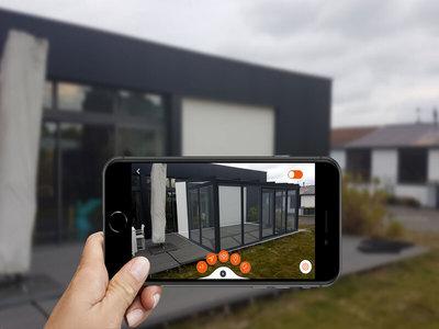 L'application Profils Systèmes 3D ou la réalité augmentée pour aider le client à mieux visualiser son projet Batiweb