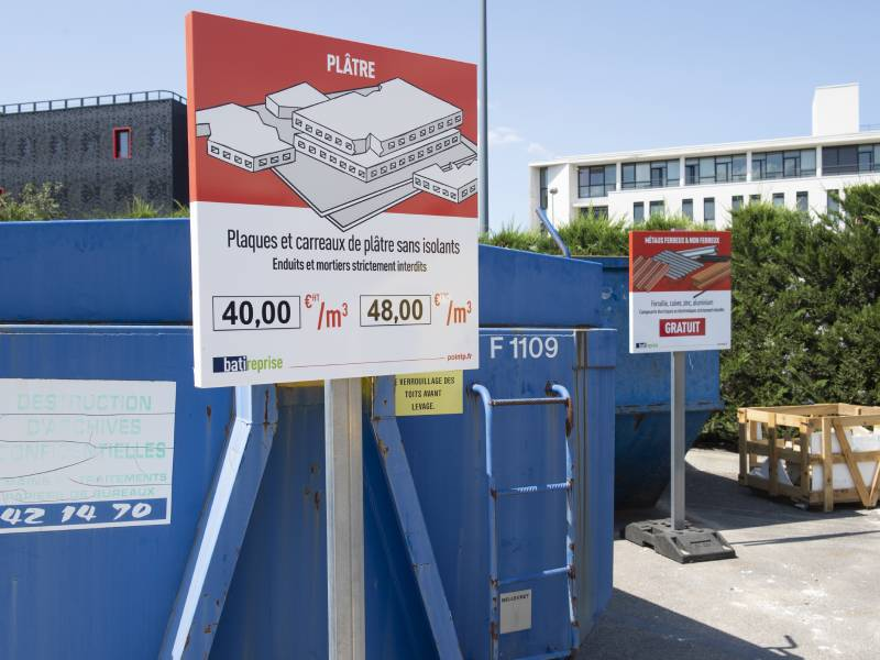 Point.P et Suez s'associent pour déployer le service Batireprise
