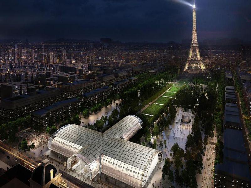 Le Grand Palais Ephémère sera conçu par l'architecte J-M Wilmotte