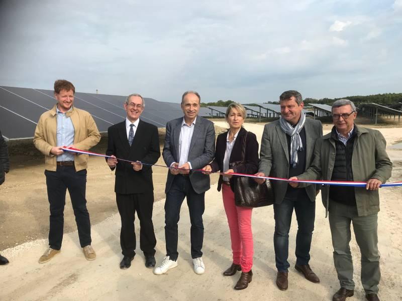 Engie inaugure la plus grande centrale photovoltaïque d'Ile-de-France