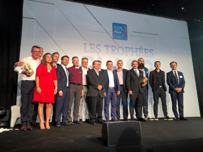 Remise des prix des Trophées Placo 2019