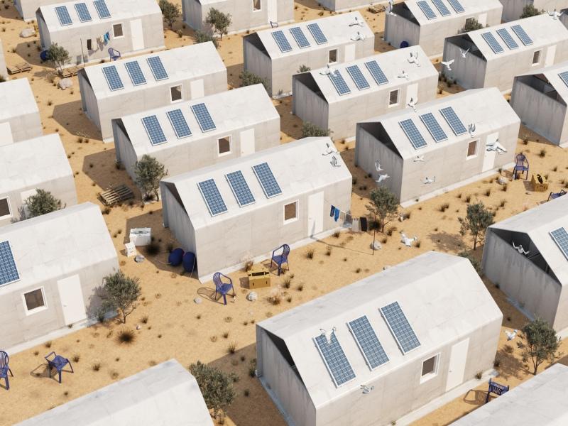 Un toit pour tous grâce au Cortex Shelter by Cutwork