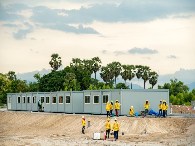 Une charte de bonnes pratiques pour les bases vie de chantier - Batiweb