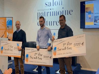 Les trois lauréats des Trophées de la Chaux 2019 sont… Batiweb