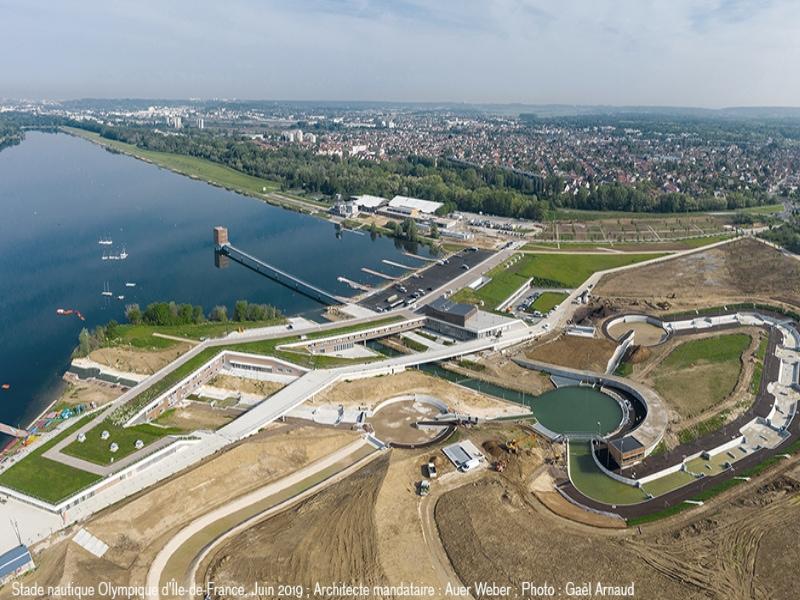Tractebel réaménage le Stade nautique olympique d'Ile-de-France pour les JO 2024