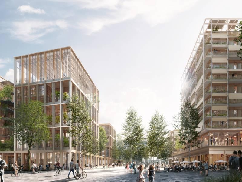 Paris 2024 : découvrez les lauréats des chantiers du village olympique - Batiweb