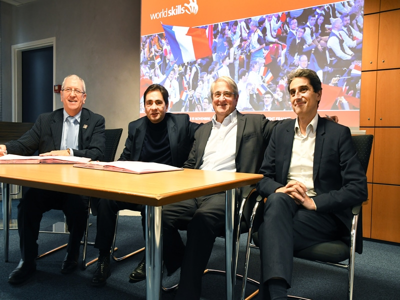 Premiers partenariats pour soutenir Worldskills France en 2020-2021 - Batiweb