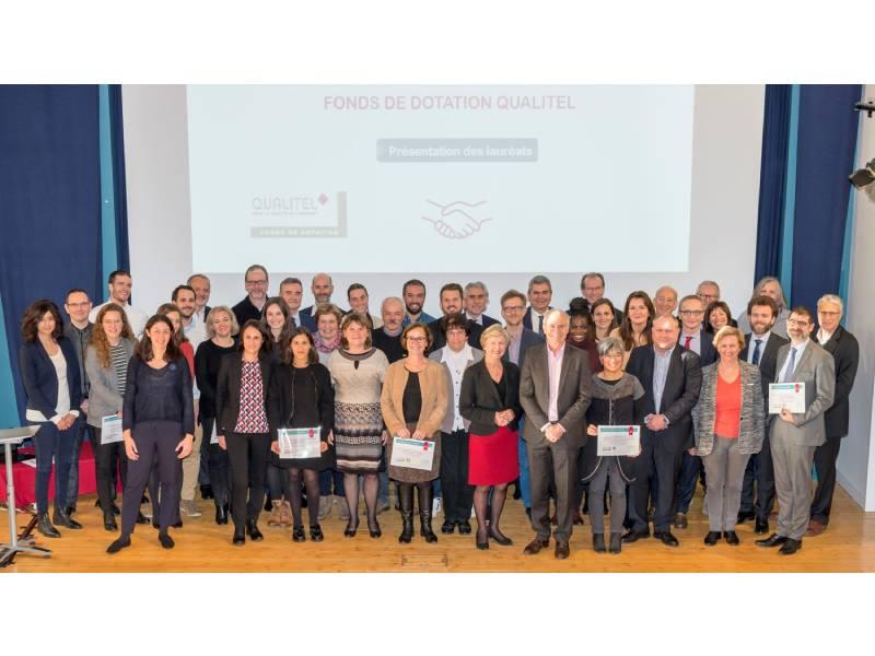 Voici les lauréats de l'édition 2019 du Fonds de dotation Qualitel