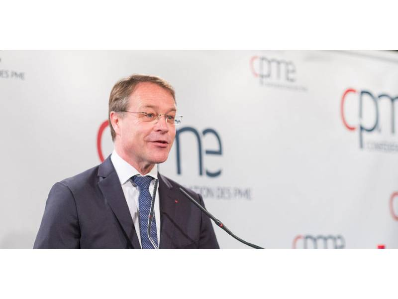 François Asselin réélu à la présidence de la CPME Batiweb