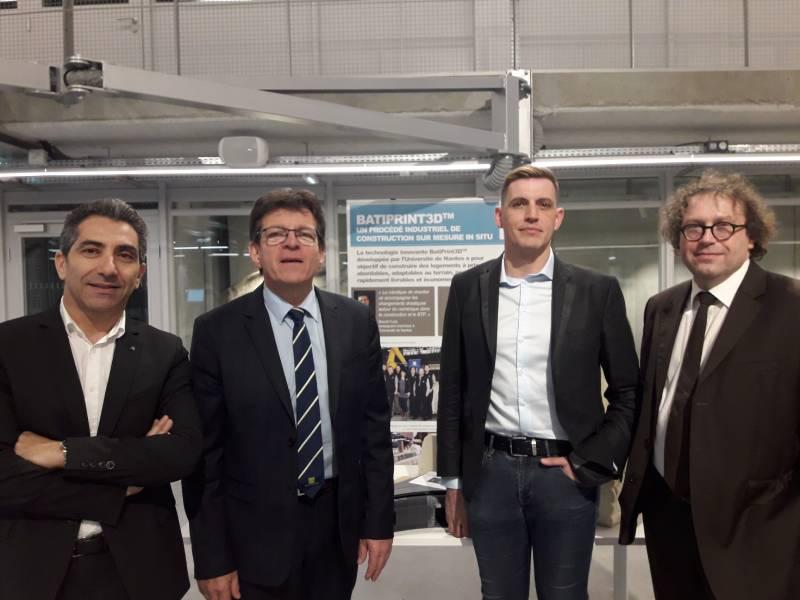 Cobots et impressions 3D : le bâtiment bientôt robotisé - Batiweb