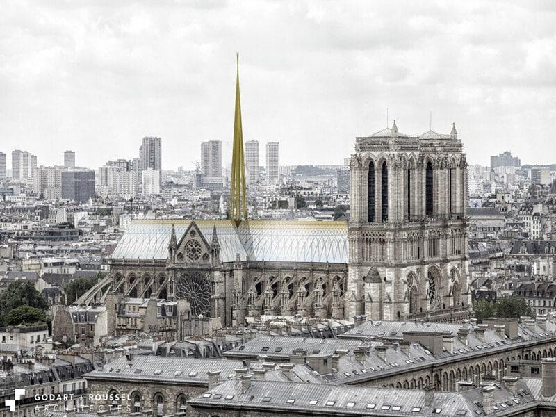 Comment reconstruire Notre Dame de Paris? - Batiweb