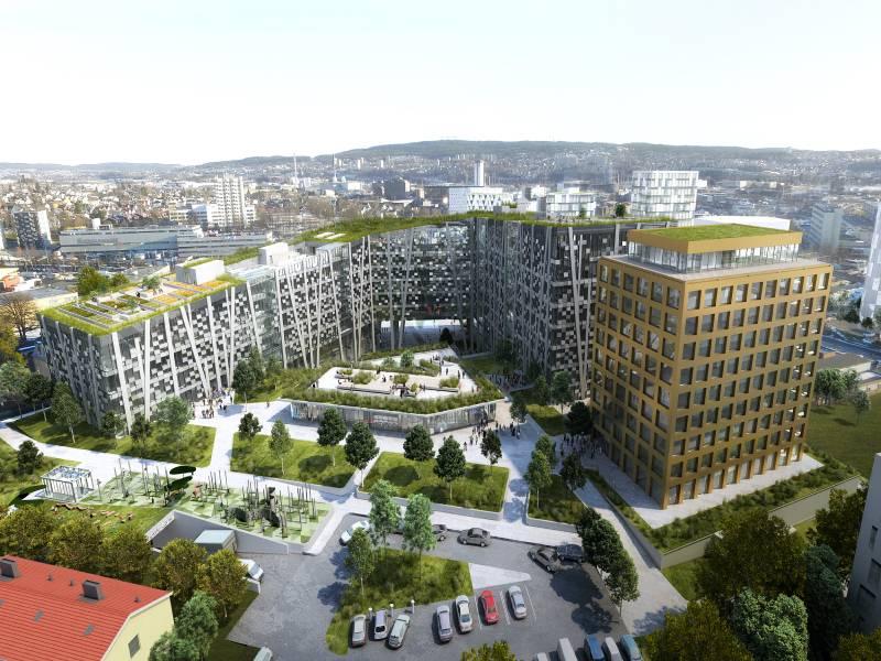 Wicona met son expertise à disposition d'un bâtiment écologique - Batiweb