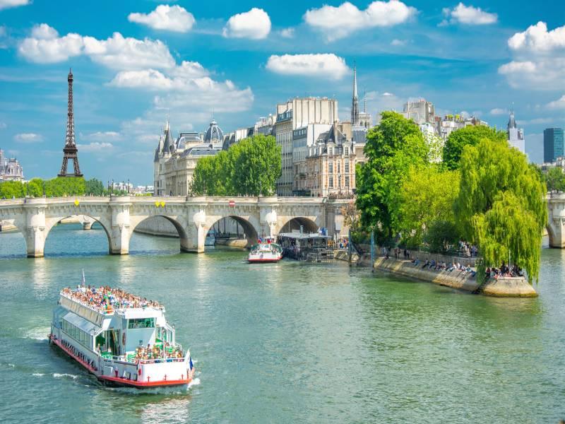La stratégie des JO 2024 autour de la Seine - Batiweb