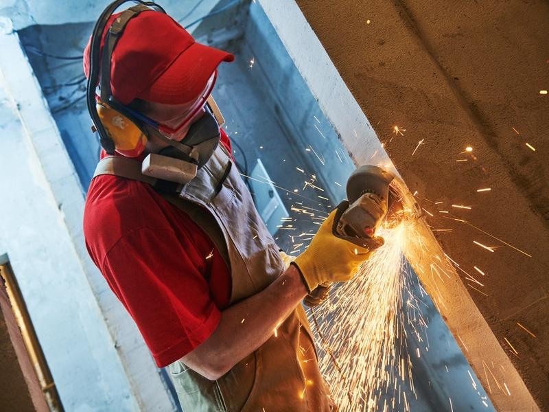 Sécurité : Bouygues Construction développe une meuleuse avec FEIN - Batiweb