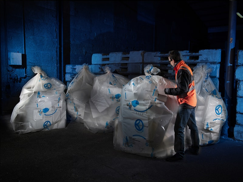 Knauf Circular propose de recycler le polystyrène expansé Batiweb