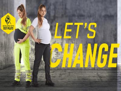 Des pantalons de travail conçus pour les femmes enceintes Batiweb