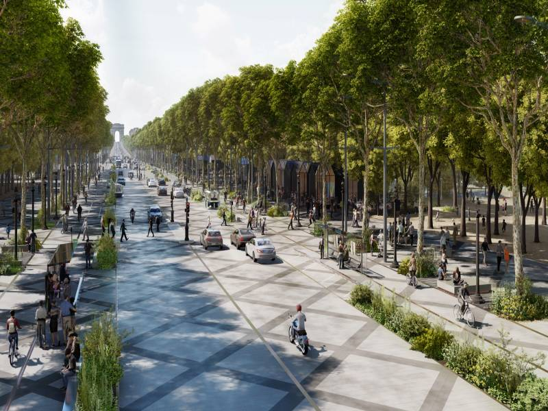 Champs-Élysées : un retour vers le futur ? - Batiweb