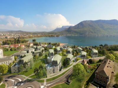 Annecy : un réseau de chaleur et froid alimenté grâce au lac Batiweb