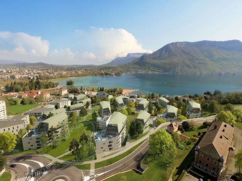 Annecy : un réseau de chaleur et froid alimenté grâce au lac - Batiweb