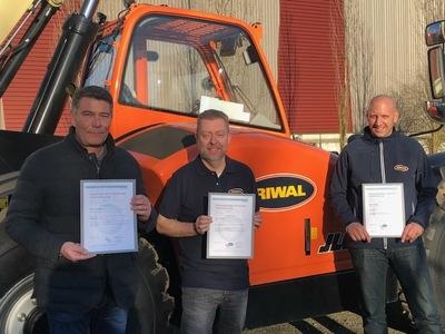 Riwal France obtient trois certifications Batiweb