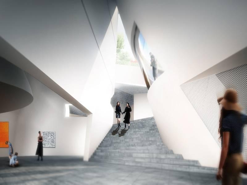 Morphosis Architects conçoit le musée national américano-coréen - Batiweb