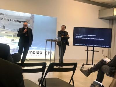 Dominique Perrault Architecte et Indigo présentent le parking du futur Batiweb