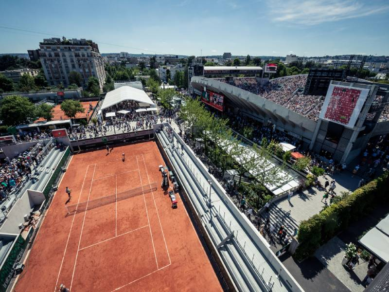 Le chantier de Roland Garros touche à sa fin - Batiweb