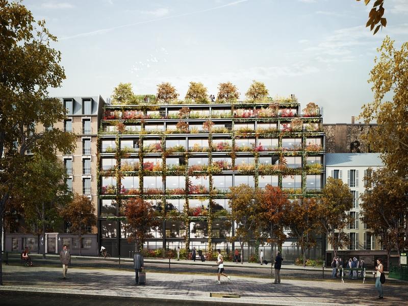 L'innovante Villa M s'affiche dans le paysage parisien - Batiweb