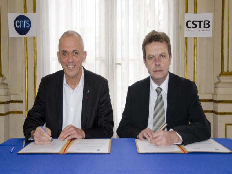 Le CSTB et CNRS en partenariat pour le bâtiment et la ville de demain - Batiweb