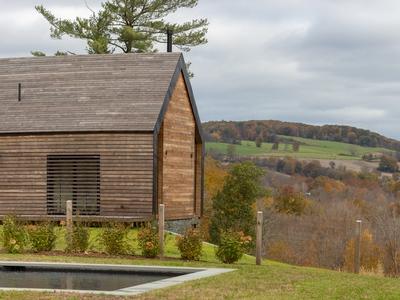 Une maison en bois Kebony façon ranch dans la vallée de l'Hudson River Batiweb