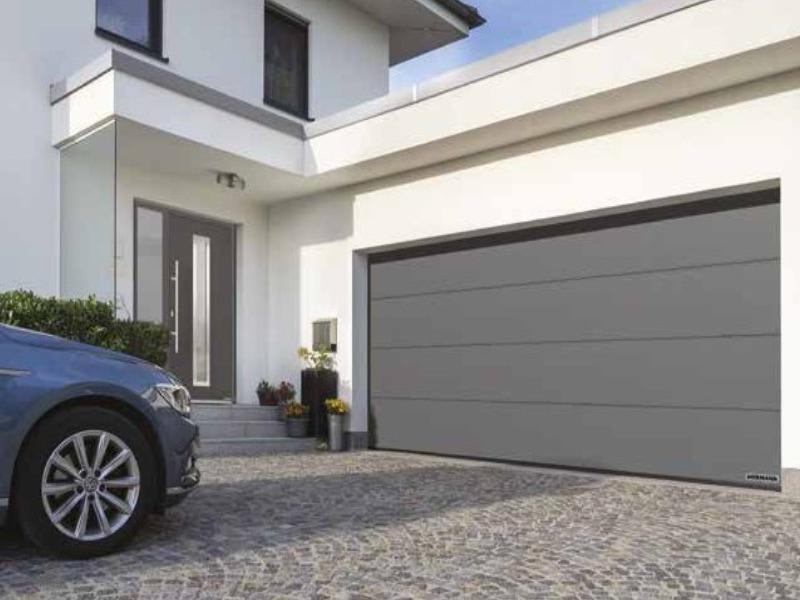Hörmann lance une nouvelle gamme de portes de garage motorisées - Batiweb