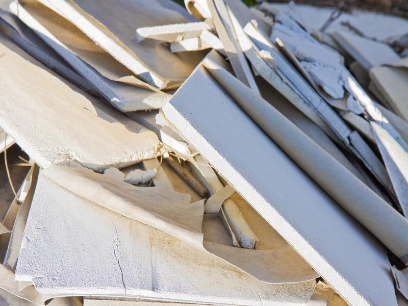 Le recyclage des déchets de plâtre a augmenté de 15 % en 2019 - Batiweb