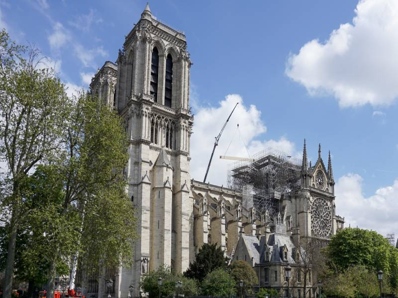 Le chantier de Notre-Dame de Paris reprendra progressivement - Batiweb