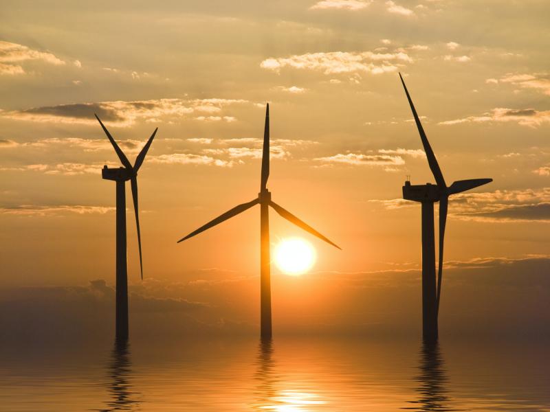La construction du parc éolien en mer de Fécamp est lancée - Batiweb