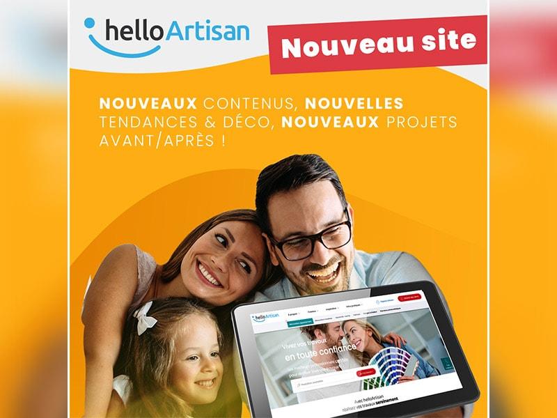 La plateforme helloArtisan évolue pour le bonheur de vos clients ! - Batiweb