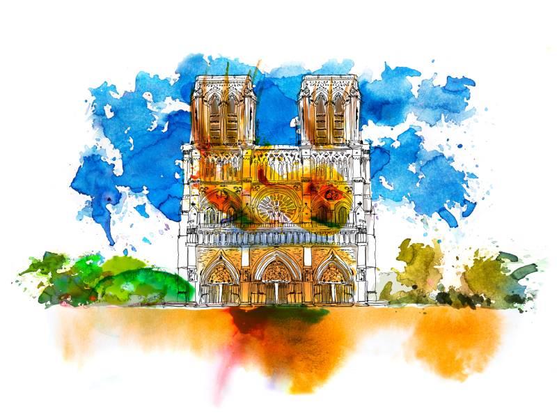 Chantier de Notre-Dame de Paris : une opportunité de recrutement ? - Batiweb