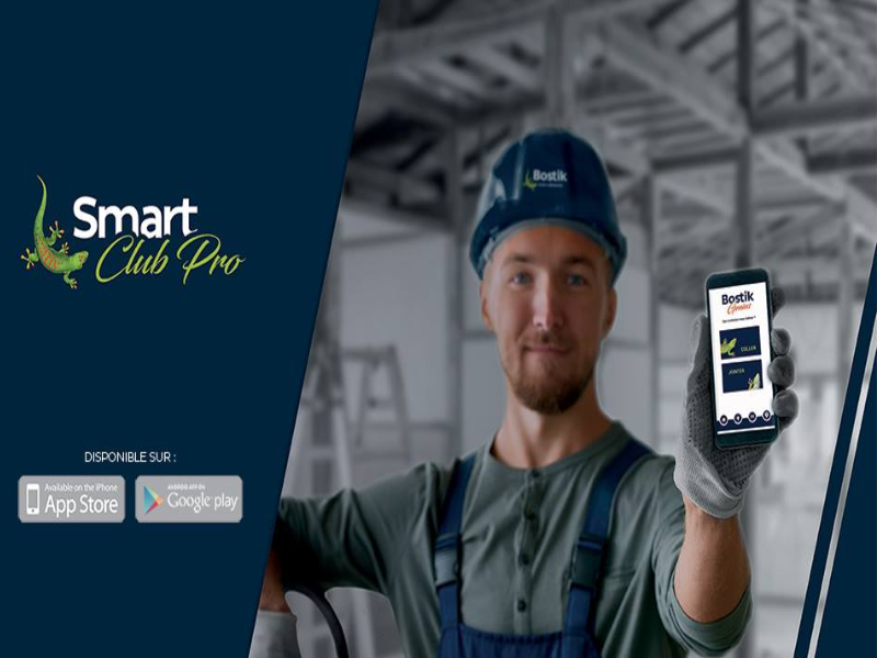Smart ClubPro, l'application de Bostik qui réunit artisans et distributeurs - Batiweb