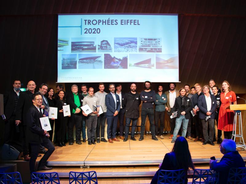 Trophées Eiffel 2020: ConstruirAcier récompense 10 lauréats - Batiweb