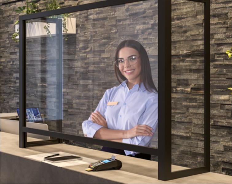 Covid-19: Saint-Gobain Glass s'est mis aux écrans de protection sanitaire - Batiweb