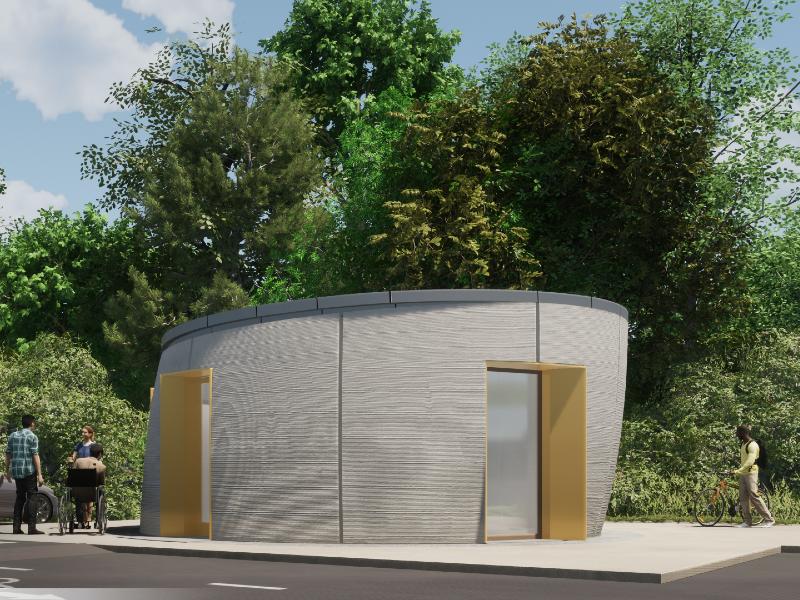 La Normandie accueille un premier bâtiment construit en impression 3D - Batiweb