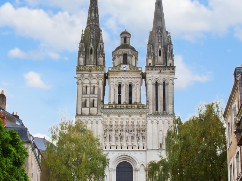 Kengo Kuma choisi pour la protection du portail de la cathédrale d'Angers - Batiweb