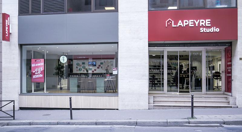 Magasin Lapeyre Studio à Paris