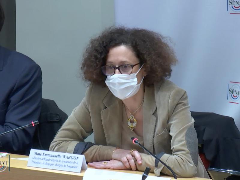 PLF 2021: E. Wargon annonce +2,2 % de budget pour le Logement - Batiweb