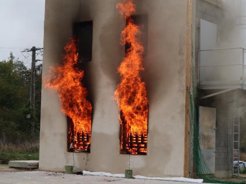 Béton de chanvre: des essais au feu concluants - Batiweb