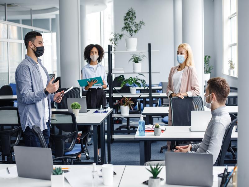 Crise du marché des bureaux: vers des postes de travail flexibles? - Batiweb